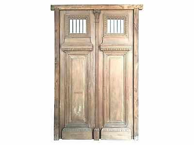 Antique Double Entry Door #1418