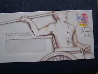 First Day Cover Sport 22 March 1988 Stamp on Envelope.