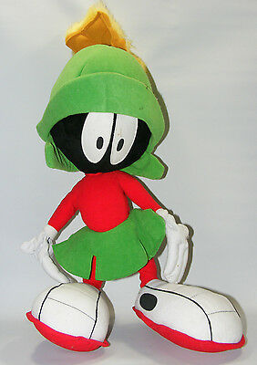 Warner Brothers Looney Tunes MARVIN THE MARTIAN Plush 20 Inches Stuffed