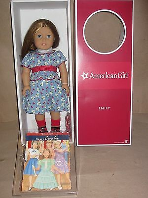 "American Girl Doll Emily 18"" Retired F7744  Molly's Friend molly"