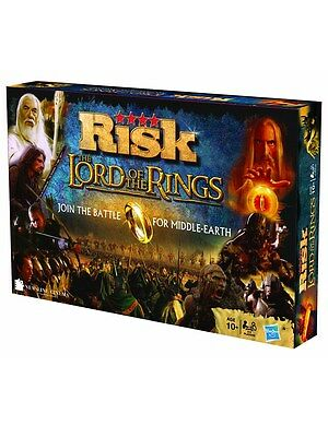 Lord of the Rings Special Edition Risk Game Set LotR Board Game
