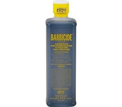 BARBICIDE SALON BARBER PROFESSIONAL DISINFECTANT SOLUTION 473ml