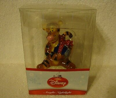 Disney Tigger Plug-in Acrylic Holiday Nightlight NIB