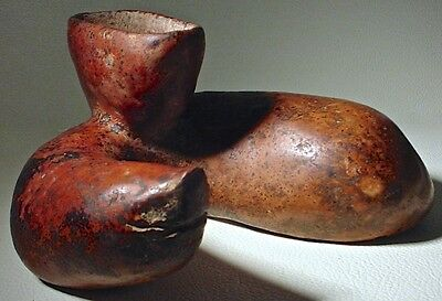 Pre-Columbian COLIMA SNAKE VESSEL, EX: SOTHEBY'S 1980