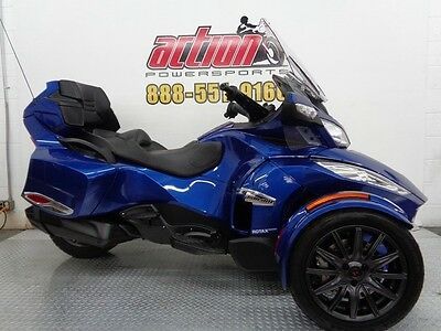 Can-Am Spyder RT-S  2013 Can-Am Spyder RT-S SE5 touring trike 2254 miles financing shipping