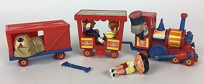 Corgi 851 Vintage All Original Rare MAGIC ROUNDABOUT Train, Complete, 1972