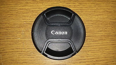 58mm Front Centre Pinch Lens Cap For Canon SECONDS made by Sonia.