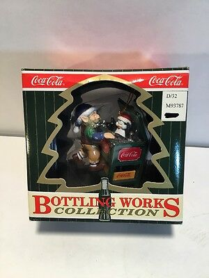 Coca Cola Bottling Works Collection Christmas Ornament