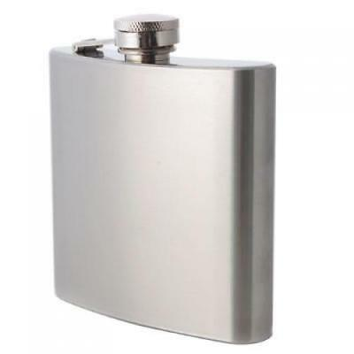 Stainless 6oz Pocket Whisky Alcohol Hip Flask Container