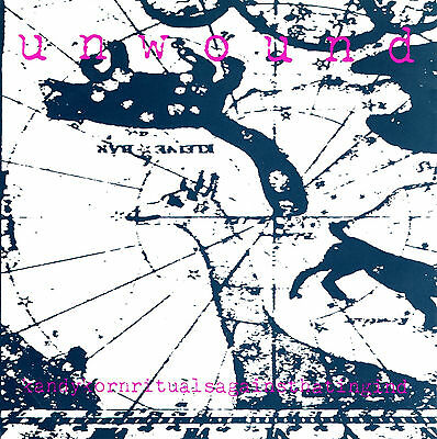 """UNWOUND kandy korn rituals - against / hating in d 7"""" KILL ROCK STARS 1993"""