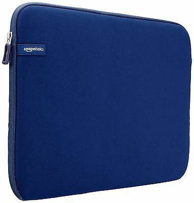 AmazonBasics 15-Inch to 15.6-Inch Laptop Sleeve - Navy 15.6-Inches