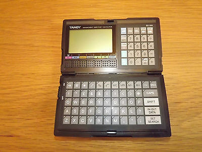 Vintage Tandy EC-319 Appointment Directory Calculator Made in Japan