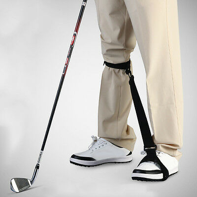 Hot Golf Leg Power Correction Strap Beginner Gesture Learn Correct Training Aid