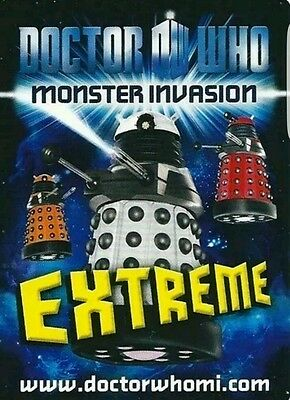 Doctor who monster invasion extreme Rare Chase set