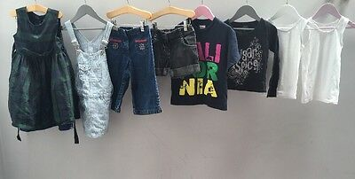 Girls Bundle Of Clothes. Age 4-5. Adams, M&S.  A2390
