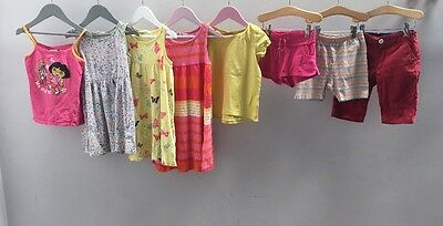 Girls Bundle Of Clothes. Age 4-5. H&M, Next, George.  A2392