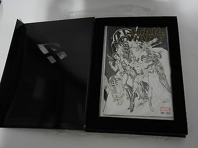 STAR WARS Marvel #1 COMIC Campbell VARIANT 4CG FOUR COLOR GRAILS EXCLUSIVE