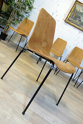 60er jahre teak stuhl dining chair danish modern design denmark eur 85 00 picclick de. Black Bedroom Furniture Sets. Home Design Ideas