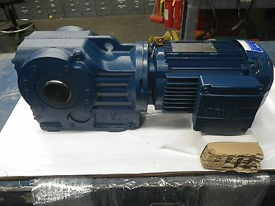 Sew Eurodrive Inc. 1 H.p. Gear Reducer New, Never Used. 230/460 3 Phase