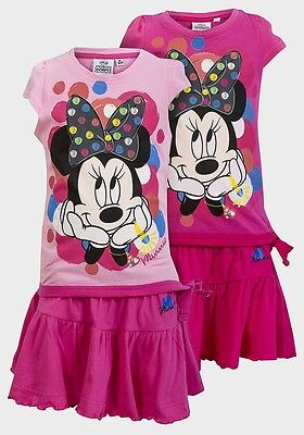 Minnie Mouse Skirt Top Outfit 3,4,5,6,7,8 Years NEW with Tags