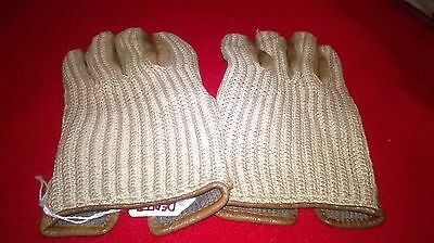 Lovely pair Of Dents Vintage Crochet Driving Gloves - Size Small