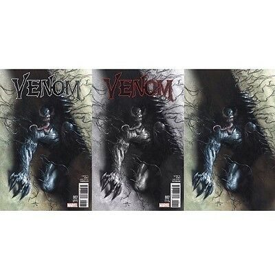 Venom 2 (2016) Dell'otto Symbiote Virgin Variant B&W & Color Set Pre Sale