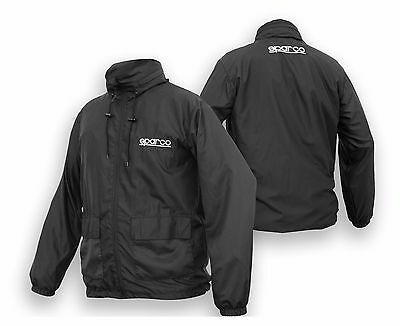 SPARCO Windbreaker Jacket - Black