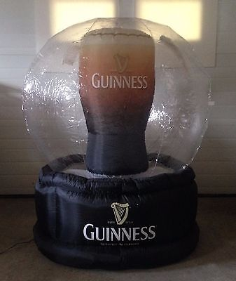 Guinness Beer -4' Inflatable-Beer Sign- Last One!