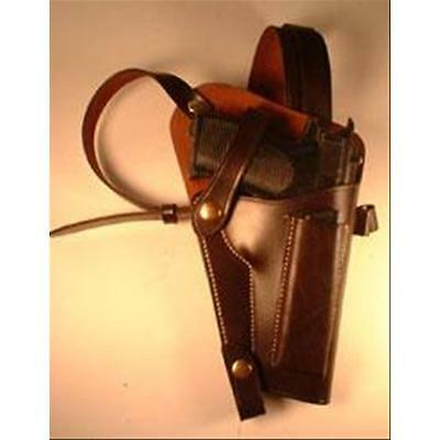 P-38 Holster Shoulder Holster Right Hand Brown