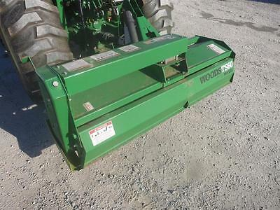 """Woods Ts60 3Pt Rotary Tiller For Tractors, 60"""" Working Width, 540 Pto Drive"""