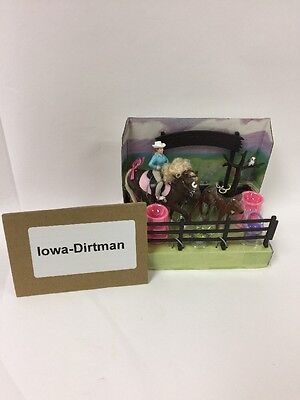 Grand Champions Mini Adventure Horse Play Set 50064 Used Display Sample