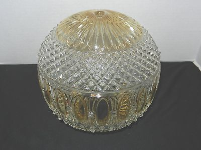 Beautiful Vintage Hobnail Style Light Shade Globe