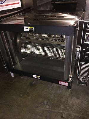 NEW BKI DR-34 COUNTERTOP ROTISSERIE DOUBLE ROTATION PASS-THROUGH Single Phase
