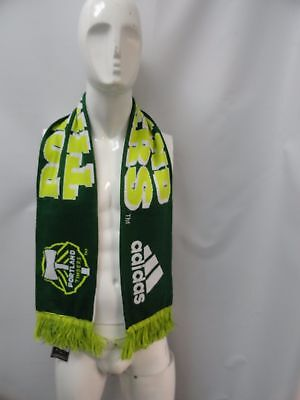 New One Size Unisex Adidas MLS Soccer Portland Timbers Scarf We Are The Timbers