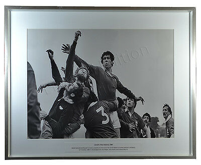 Vintage Rugby Photo Ltd Ed Print Llanelli v New Zealand All Blacks 1980 Mourie
