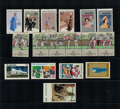 Australia 1977 complete year  MNH mint MUH