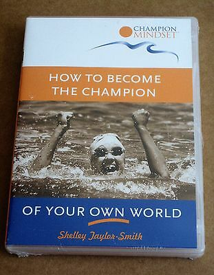 HOW TO BECOME THE CHAMPION OF YOUR OWN WORLD ~ CD +workbook Shelley-Taylor-Smith