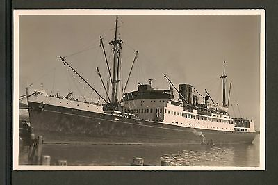 Tonga Tin Can Mail - S.S. Matua - Commercial Steamer - Real Photo