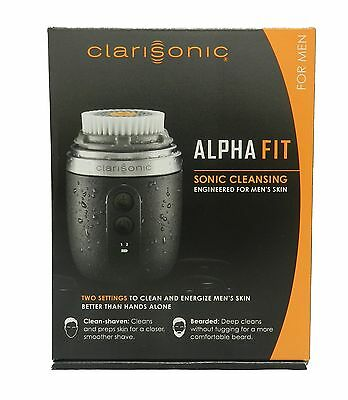 NEW SEALED - CLARISONIC Alpha Fit Sonic Skin Cleansing System for Men