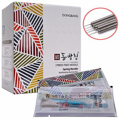 New Korea DongBang Acupuncture Disposable Hand Needles +Guide Tube 1000pcs DB108