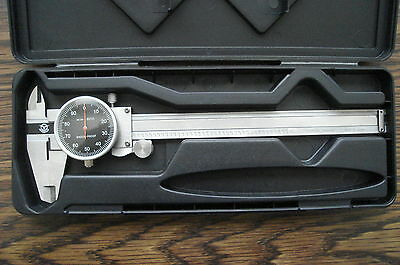 "Spercial Price  New Black Face 0-6"" Stainlees Steel Dial Caliper"