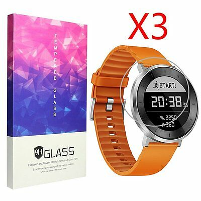 3pcs For Huawei Fit Smart Fitness Tempered Glass Screen Protector 9H Hardness