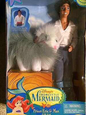 The Little Mermaid Prince Eric And Max Gift Set 1997