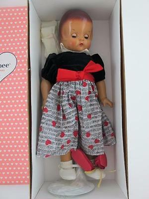 """Effanbee Vintage Patsy Ann 18"""" Doll with Sleep Eyes V5100 Rare NEW IN BOX Mint"""