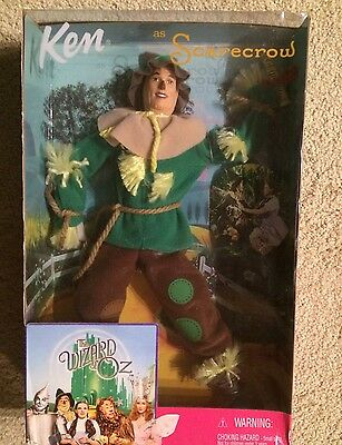 Wizard of Oz Barbie Ken as Scarecrow Doll NEW 1999