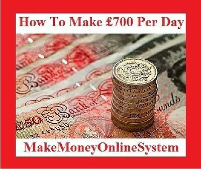 How To Earn Up To £700 A Day With Guarantee