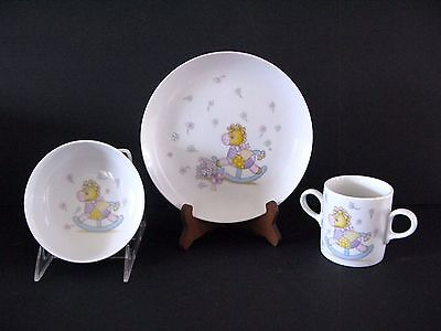 Child's Plate, Bowl, and Cup Set