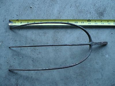 Antique 3 Tine Pitch Fork Head Only - Collectible and Classic