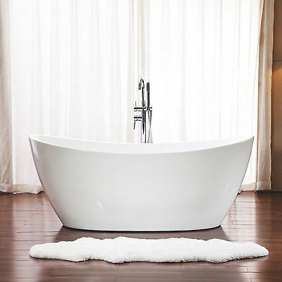 1500 x 800 x 680 mm Darling Little Round Freestanding Bath Tub - Free Standing