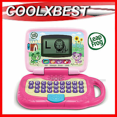 NEW LEAP FROG MY OWN LEAPTOP KIDS LAPTOP PINK - alphabet vocab games music